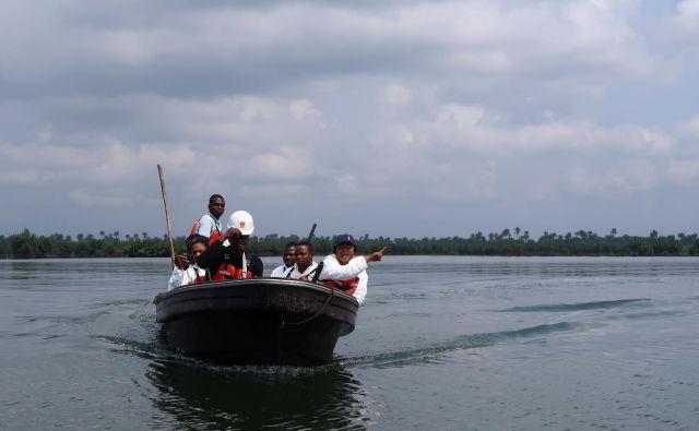 Tovrstne ugrabitve so v Nigeriji precej pogoste. Predlani so ugrabili 52 mornarjev, lani 75. FOTO: Reuters