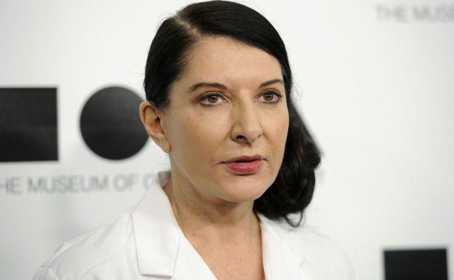 Marina Abramović je po napadu na srečo ostala nepoškodovana. FOTO: Reuters