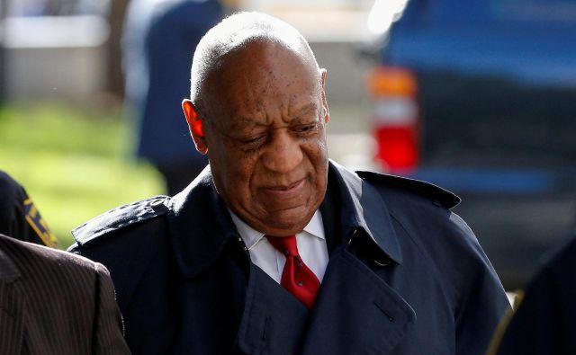 Bill Cosby gre lahko v zapor do konca življenja. FOTO: Reuters