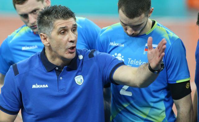 Slobodan Kovač je bil po porazu z Avstralijo kritičen do svojih izbrancev. FOTO: Tomi Lombar/Delo