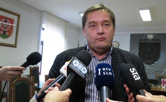 Mutski župan Mirko Vošner se bo na jesenskih volitvah potegoval še za en mandat. Zanj si bo prizadeval tudi Darko Sahornik. FOTO: Mateja Kotnik