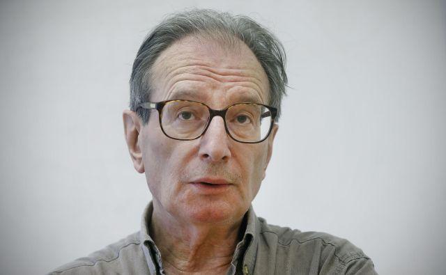 Jean-Luc Marion, francoski filozof<br /> FOTO: Blaž Samec/Delo