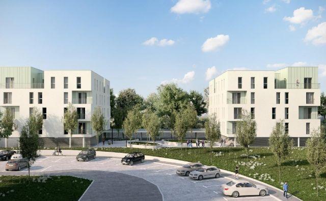 Na trgu manjka novih stanovanj. Foto Jure Eržen