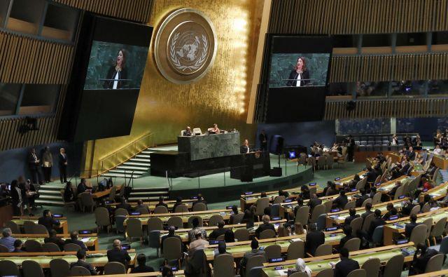 73. zasedanje Generalne skupščine Združenih narodov v New Yorku. FOTO: Richard Drew/Ap