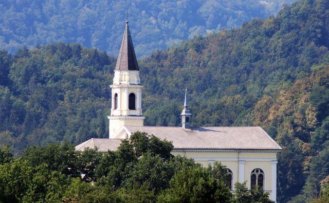 Tudi obnovo cerkve sv. Martina na Teharjah bo delno financiral proračun MO Celje. FOTO: Brane Piano