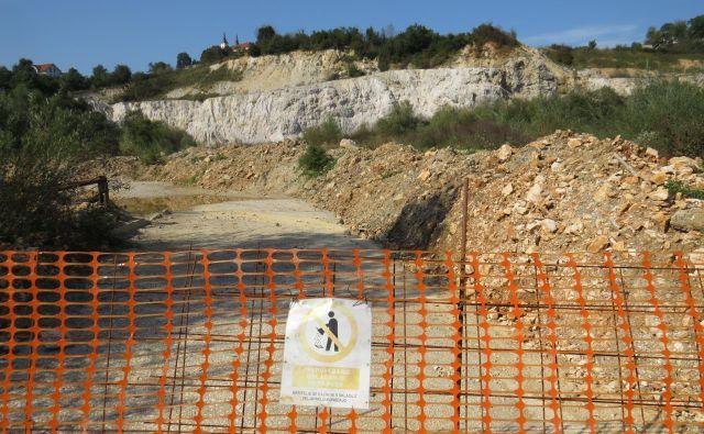 Ogromni kupi zemljine, med katerimi so še zmeraj inertni odpadki, okoljevarstvenikov ne motijo več, ker da so zemljino navozili naknadno, da bi tako na zemljišču preprečili odlaganje vse mogoče navlake, ki v naravo ne sodi. FOTO: Bojan Rajšek/Delo