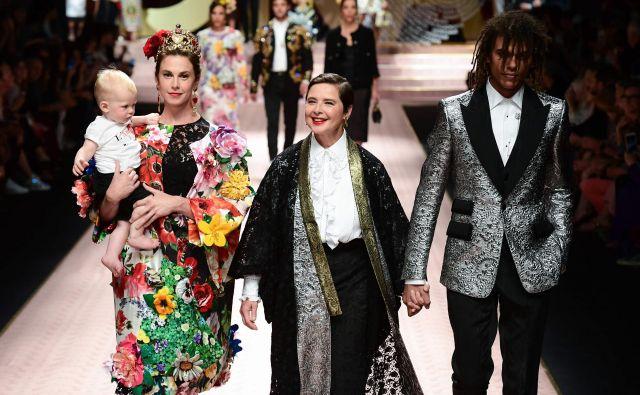 Dolce & Gabbana. Foto Miguel Medina Afp