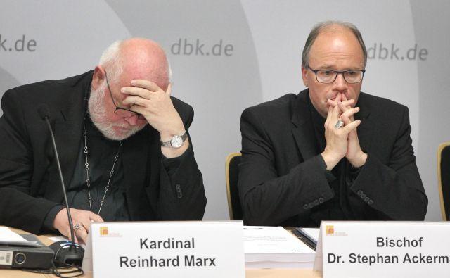 Po ameriški, irski in številnih drugih zdaj tudi nemška Katoliška cerkev priznava svoje grozljive grehe. FOTO: AFP
