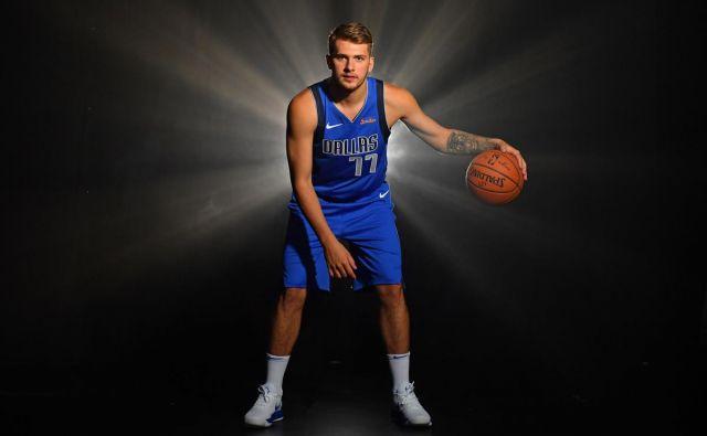 Luka Dončić je zagotovilo za sijočo prihodnost košarkarskega Dallasa. FOTO: mavs.com