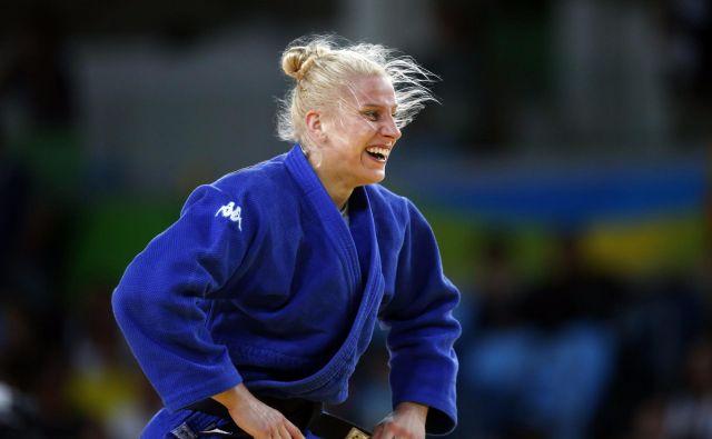 Ana Velenšek na SP v Bakuju ni imela razloga za veselje. FOTO: Matej Družnik/DELO