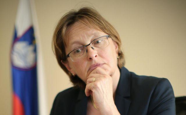 Ministrstvo za finance, ki ga je lani vodila Mateja Vraničar Erman, med drugim nima niti ustreznih navodil za sestavo zaključnega računa proračuna RS. FOTO: Jure Eržen/Delo