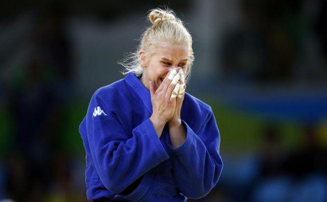 Ana Velenšek je prikazala eno od svojih najslabših borb. FOTO: Matej Družnik/Delo