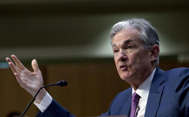 Trumpov izbranec, novi predsednik Federal Reserve Jerome Powell, se ne uklanja predsedniku in pridno dviga obresti. FOTO: AP