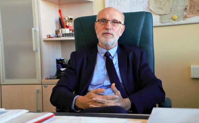 Alojz Razpet, predsednik Skupnosti višjih strokovnih šol Slovenije in ravnatelj Višje strokovne šole Šolskega centra Celje. FOTO: Brane Piano