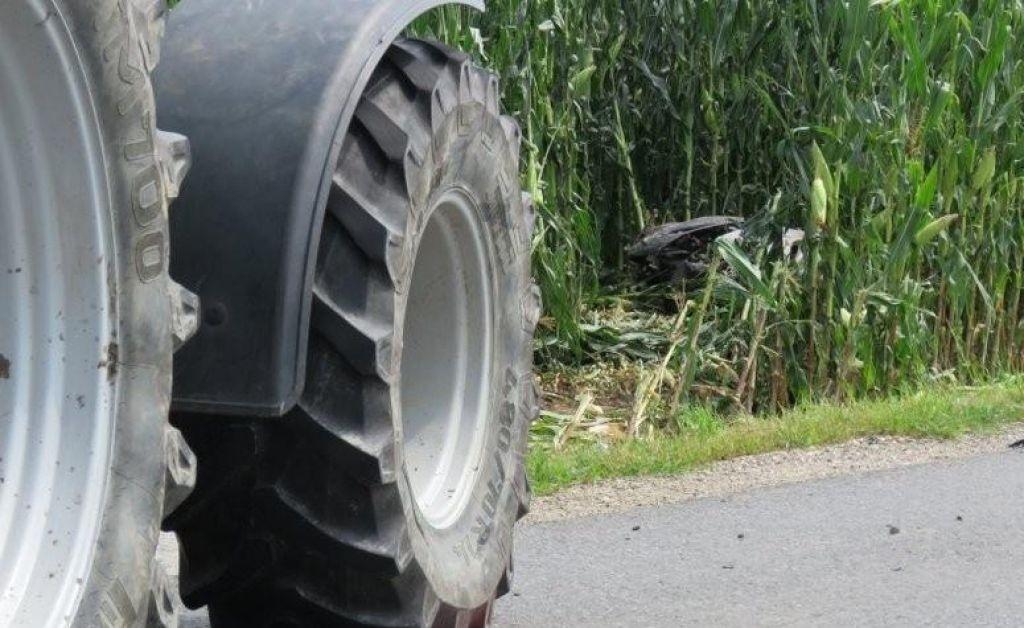 Nesreča s traktorjem usodna za 59-letnika