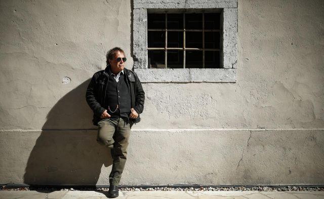 Pero Lovšin, Kodeljevčan, ki je prodrl v glasbeni svet. Foto Uroš Hočevar