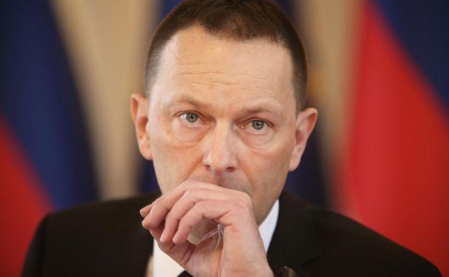 Uroš Novak se zavzema za ustanovitev protikorupcijske komisije na evropski ravni. FOTO:Jure Eržen/Delo