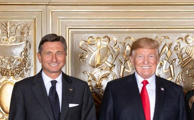 """Katrca Boruta Pahorja je bila še """"mladoletna"""", ko so bile na slovenskih benciskih črpalkah nazadnje takšne cene goriv kot jih zdaj gleda šofer ameriškega predsednika Donalda Trumpa. Foto: Official White House Photo"""