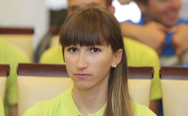 Polona Batagelj se je borila s poškodbo. FOTO: Delo