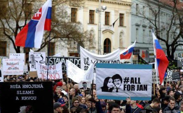 Jána Kuciaka so umorili februarja letos. FOTO: Reuters