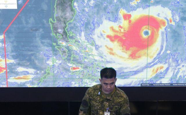 Po besedah Vertačnika bodo podnebne spremembe predvsem vplivale na količino padavin, ki jih bodo prinašali orkani in tajfuni. FOTO: Aaron Favila/AP
