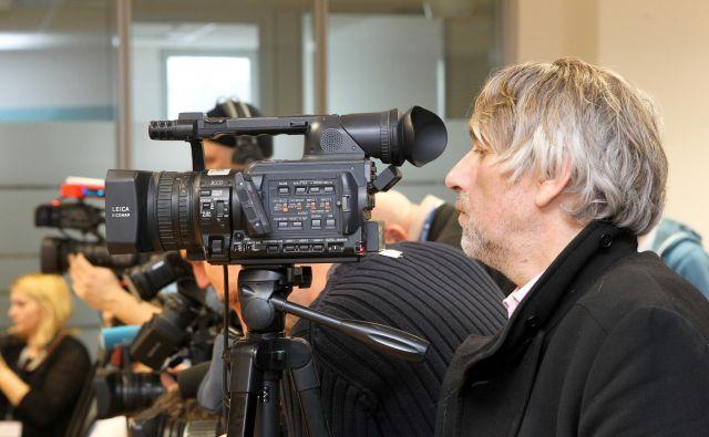 Primer Voduška odpira tudi vprašanje, kdo oziroma kaj je sploh novinarstvo. Foto: Marko Feist FOTO: Marko Feist