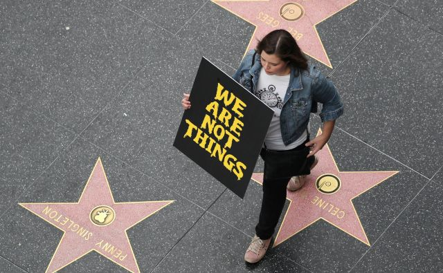 Zadnji val feminizma, ki prihaja iz Amerike, vse bolj spominja na pristno moralno revolucijo.FOTO: Reuters