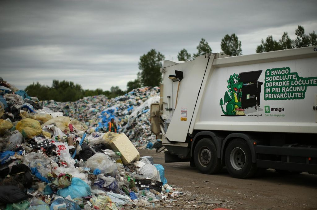 FOTO:V Avstriji kupi odpadkov ne nastajajo, sistem deluje