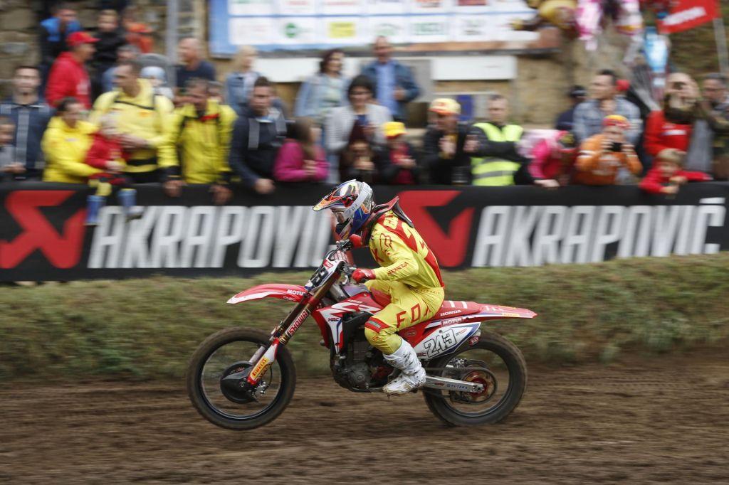 Tim Gajser v Imoli med najhitrejšimi v kvalifikacijah