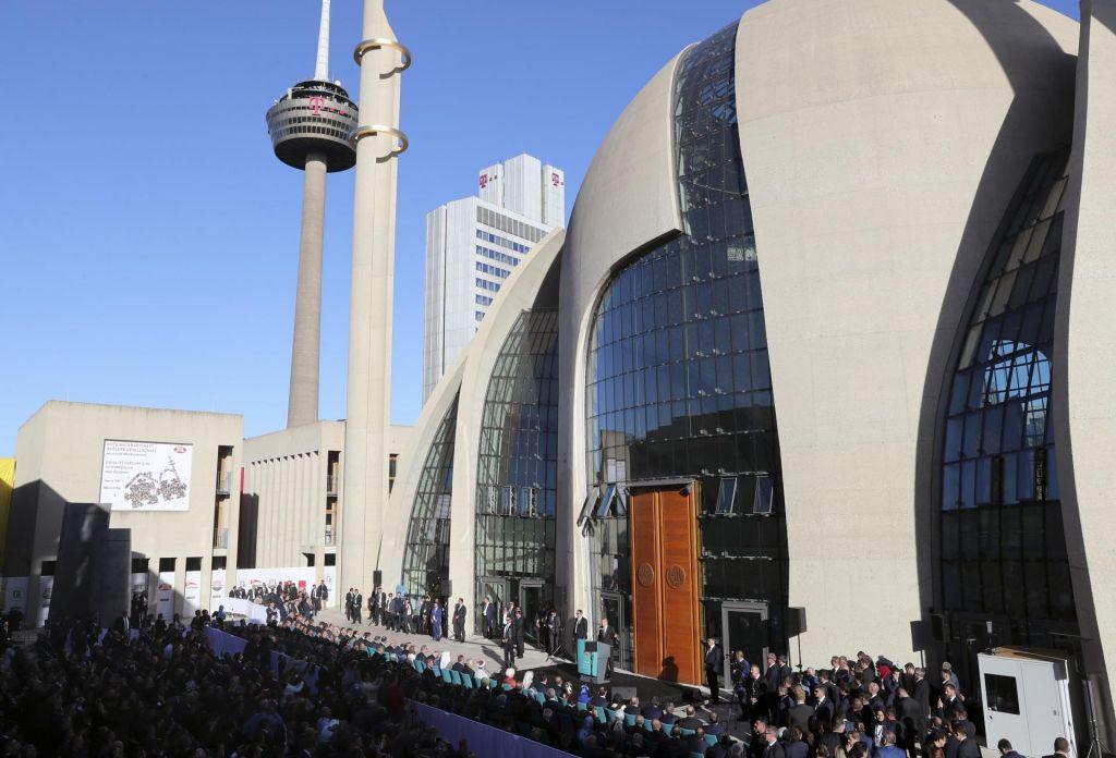 Za slovo odprtje ene največjih mošej v Evropi