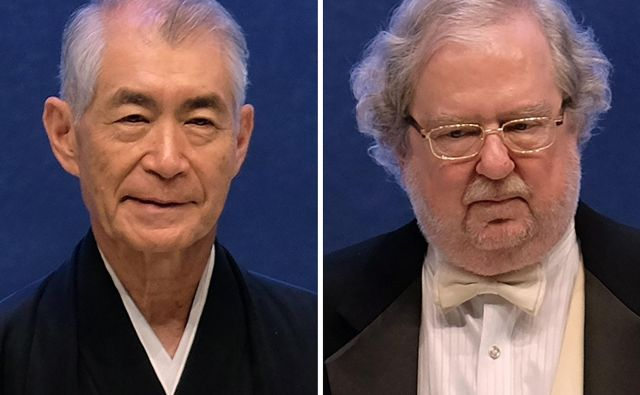 Američan James P. Allison in Japonec Tasuku Hondžo sta postavila nov steber pri zdravljenju raka. FOTO: Sam Yeh/AFP
