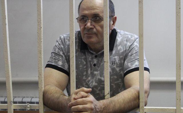 Ojub Titijev je v zaporu v Groznem že od januarja letos. FOTO: AP