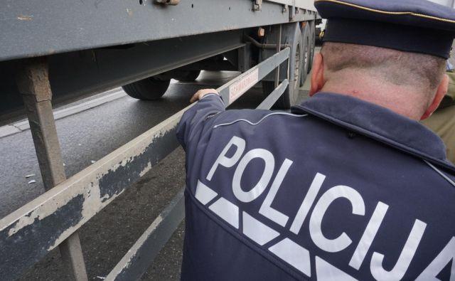 Policisti so tujo krivdo izključili. Fotografija je simbolična. FOTO: Janoš Zore