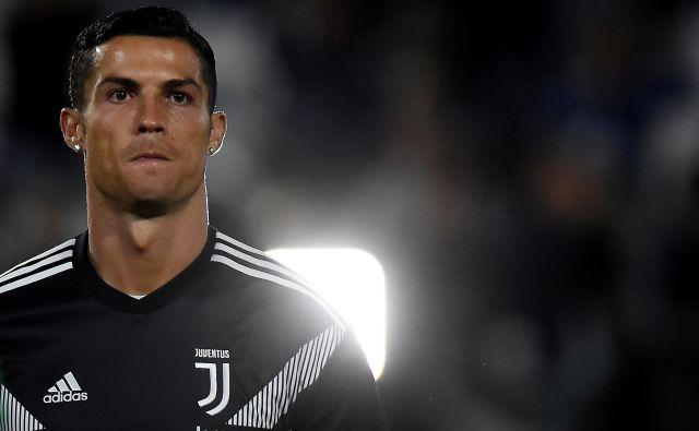 Cristiano Ronaldo se je znašel sredi preiskave. FOTO: Reuters
