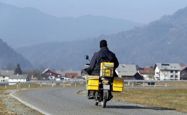Klasičnih poštnih storitev je vse manj. FOTO: Matej Družnik