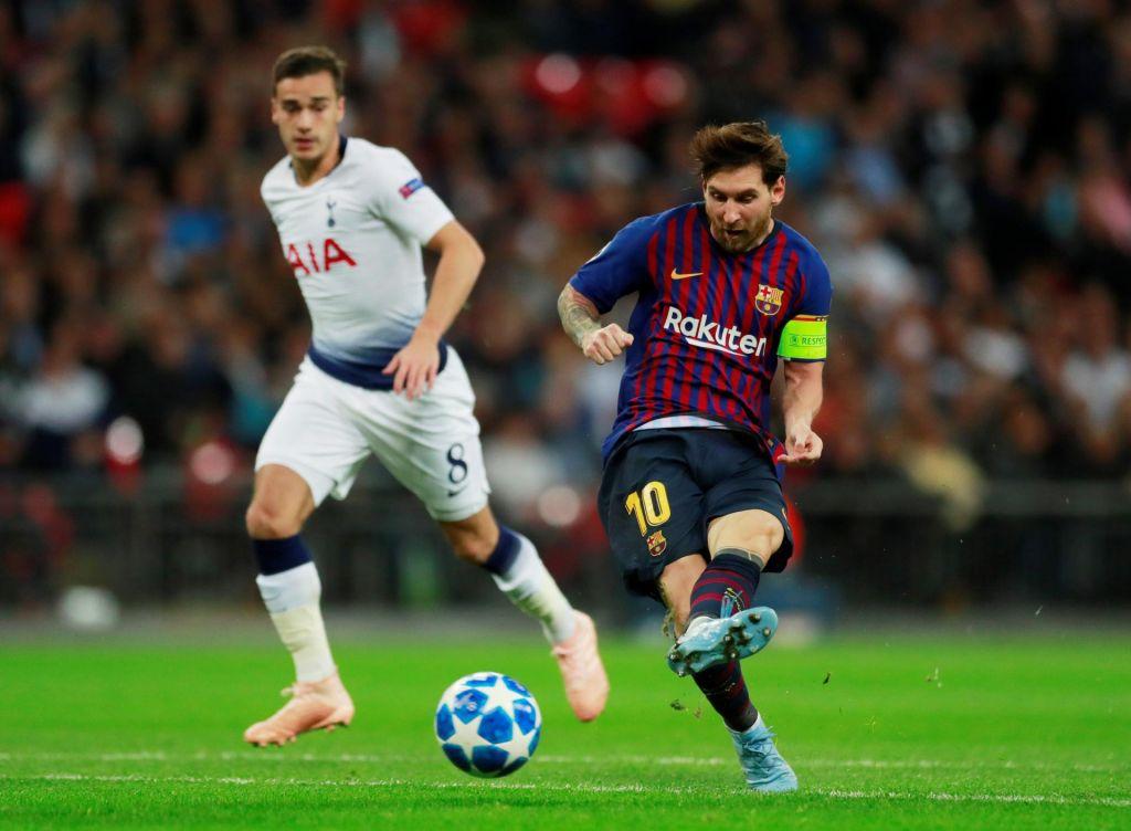 Liga prvakov: Messi junak Barcelone na Wembleyu