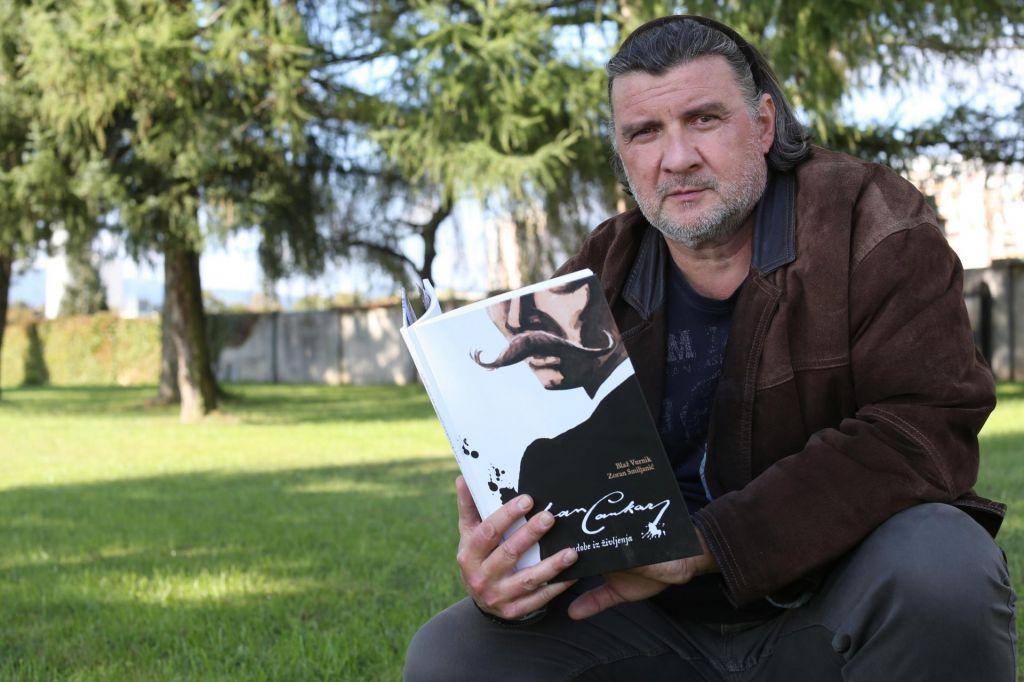 FOTO:Zoran Smiljanić, stripar: Ženo sem varal s Cankarjem