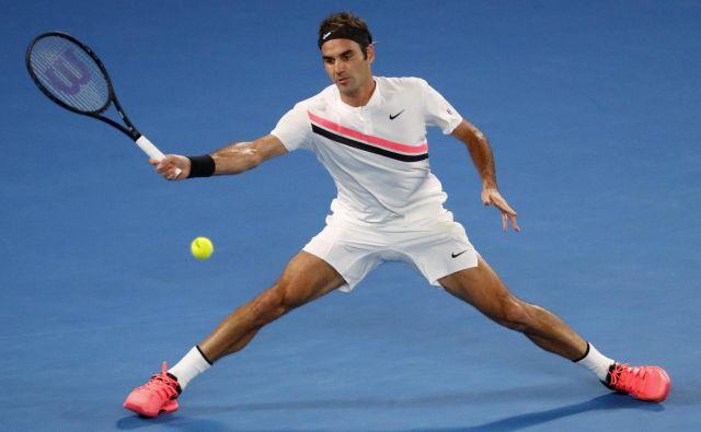 Časovne omejitve bi najmanj prizadele Federerja, ki igra zelo hitro in malodane nikoli ne prekorači časa. FOTO: David Gray Reuters