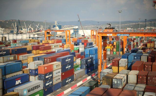 Luka Koper v porimežu kontejnerjev čaka investicije. FOTO Jure Eržen
