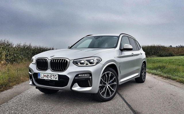 BMW X3 M40i je avtomobil, ki te ne pusti ravnodušnega. FOTO: Andrej Brglez