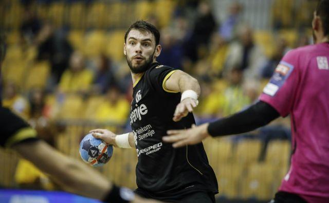 Nikola Špelić je pri Gorenju zadolžen za gole. FOTO: Uroš Hočevar