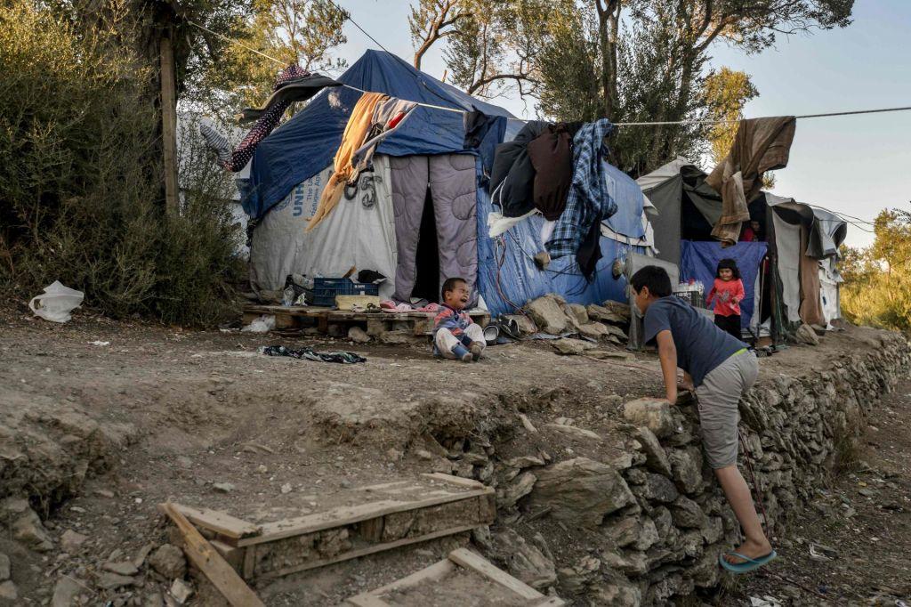 Begunsko taborišče Moria, temačni obraz Evrope