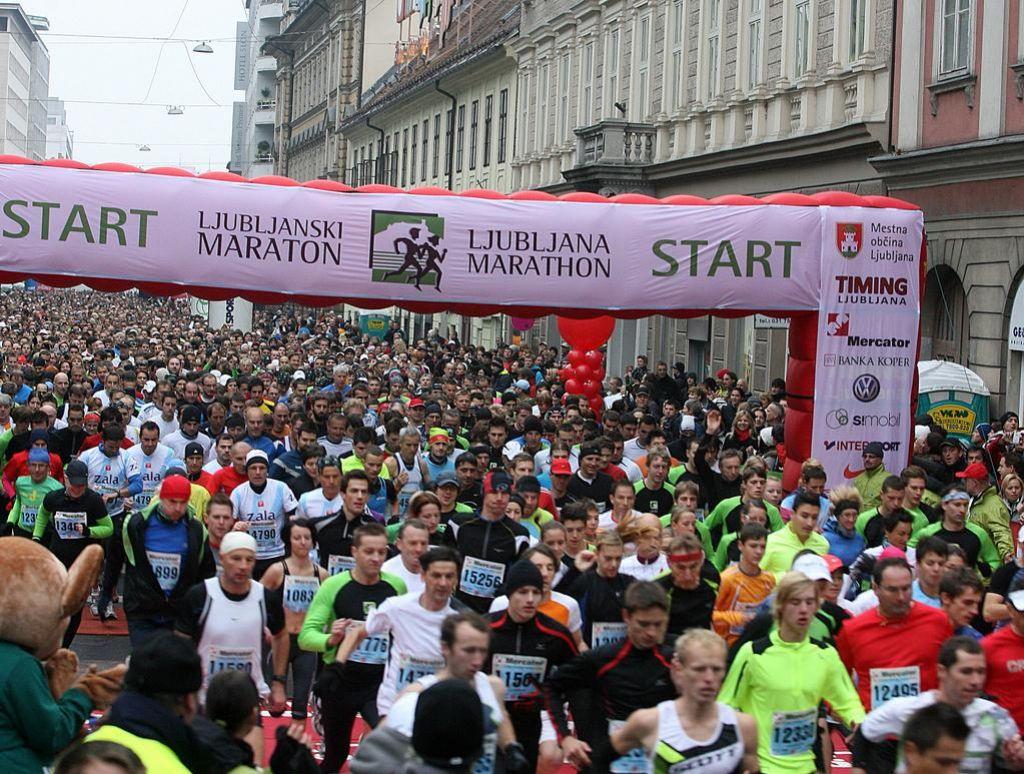 Ljubljanski maraton. Bloudkov nagrajenec