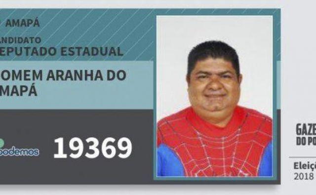 Spiderman iz Amapája – s krstnim imenom Aderilson Santos da Silva je kostum super heroja začel nositi pred devetimi leti.
