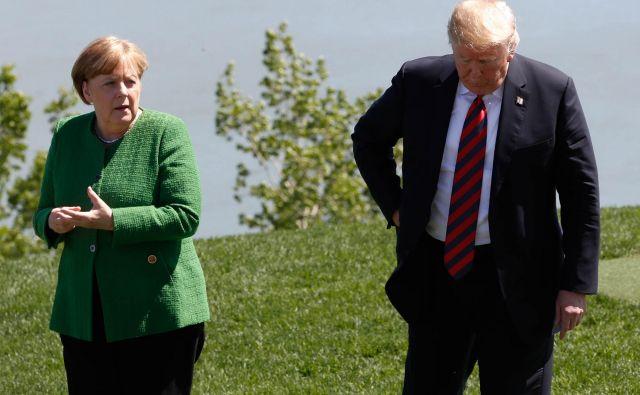 Odnosi med tradicionalnimi zahodnimi zavezniki na obeh straneh Atlantskega oceana zadnje čase niso ne čudoviti niti složni. FOTO: Yves Herman/Reuters