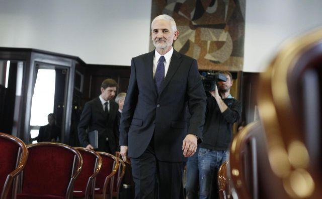 Predsednik vrhovnega sodišča Damijan Florjančič opozarja na neustreznost imenovanja sodnikov. FOTO Leon Vidic