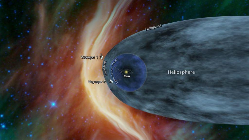 Tudi Voyager 2 že zelo blizu magični meji