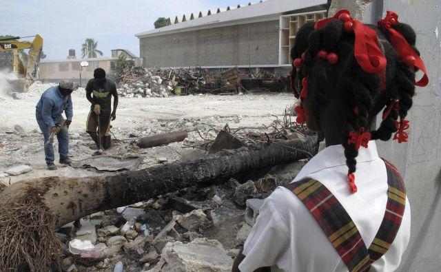 Leta 2010 je po potresu na Haitiju umrlo 200.000 ljudi. Fotografija je iz tega leta. FOTO: Reuters