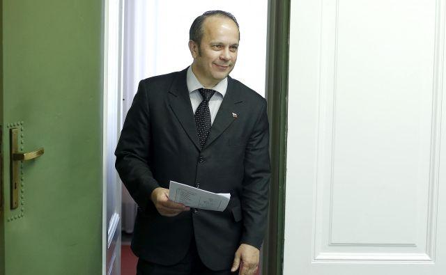 Ustavni sodniki bodo še enkrat odločali o sporu med Brankom Grimsom in Mladino. FOTO: Blaž Samec/Delo