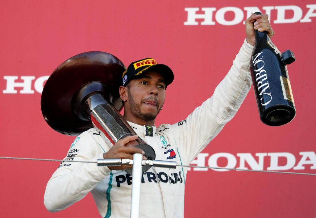 FOTO:Lewis Hamilton še korak bližje peti lovoriki (VIDEO)